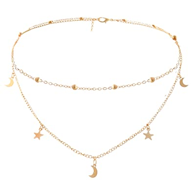 Halskette gold frauen