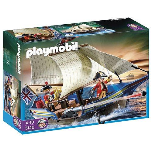 Playmobil Piratas - Barco de los...
