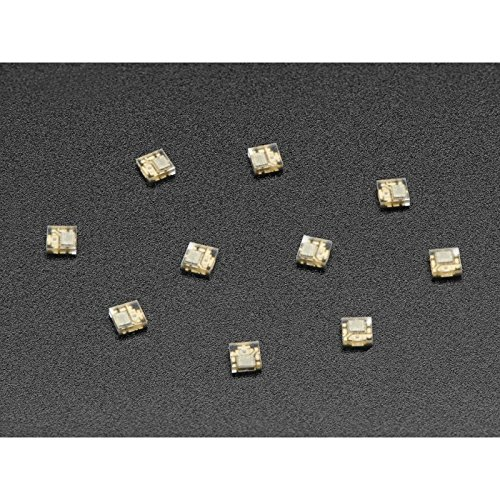 Preisvergleich Produktbild DotStar Micro LEDs (APA102–2020) - Smart SMD RGB LED - 10 pack