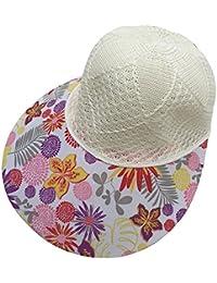 Blumiger Damen Mädchen Kappe Schirmmütze Garten Hut in Vier Farben