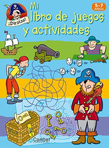 ¡Piratas! (Mi libro de juegos y actividades)