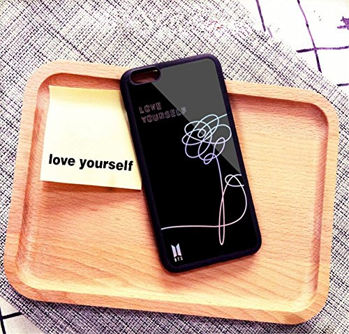 new concept e834a 949e1 QUIETTER Bangtan Boys Love Yourself Her Soft TPU Protective Phone Cases for  Iphone 5/6/7/8/X (BTS, iphone6/6s plus)