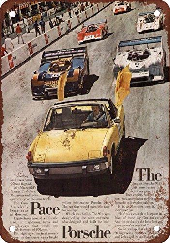 1973-porsche-914-ritmo-coche-aspecto-vintage-reproduccion-metal-tin-sign-8-x-12-pulgadas