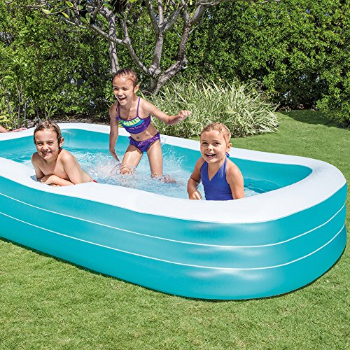 Intex 58484NP - Piscina hinchable rectangular 305 x 183 x 56 cm, 1.020 litros