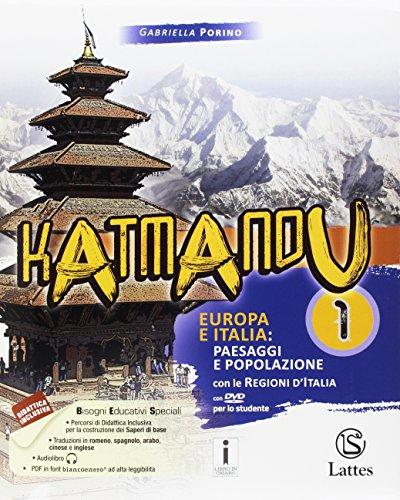 Katmandu. Per la Scuola media. Con 4 libri: Atlante 1-Tavole-Mi preparo per interrogazione-Quaderno delle competenze 1. Con DVD-ROM
