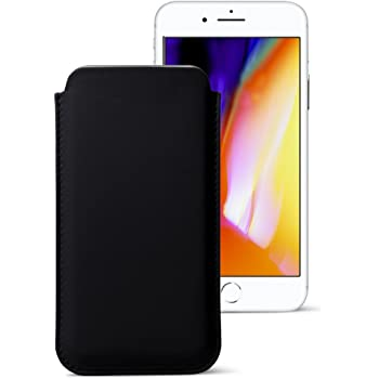 Lucrin - Etui ceinture pour iPhone 7 - Noir  Amazon.fr  High-tech 2cc9e07f480