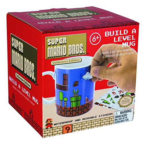 Super Mario Bros Build a Level Mug - Customise your mug