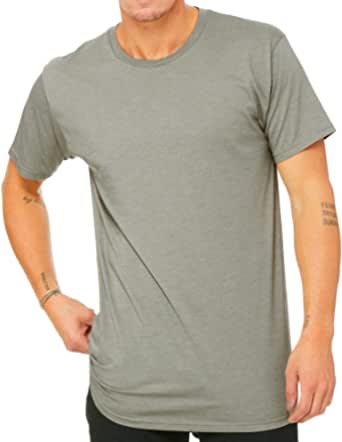 Bella Canvas Mens Long Body Urban T-Shirt
