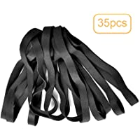 atnight Rubber Bands Large Thick Elastic Rubber Bands Set,Durable Wide Elastic Band for School Office Stationery Craft Home,35 Pcs