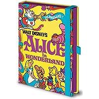 Disney–Alice In Wonderland licenza ufficiale–Taccuino in pratico formato A5–dimensioni 15x 21cm
