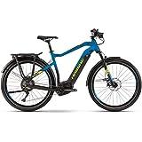 Haibike Sduro Trekking 9.0 Pedelec E-Bike Fahrrad schwarz/blau/gelb 2019