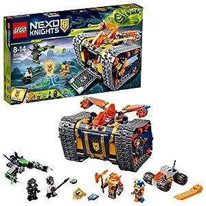 LEGO- Nexo Knights Arsenale Rotolante di Axl, Multicolore, 72006  LEGO