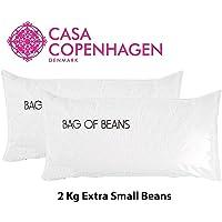 Casa Copenhagen 2 kg Extra Small Beans Virgin Bean Bag Refill