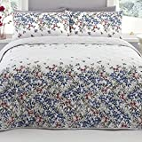 Dreams & Drapes - Malinda - Easy Care Duvet Cover Set - King, Chambray
