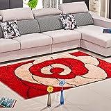 Unbekannt Muster Puzzle Modern European Schlafzimmer Wohnzimmer Sofa, Tisch, Sofa-Bett Teppich (Farbe, Größe Optional) (Farbe : H)