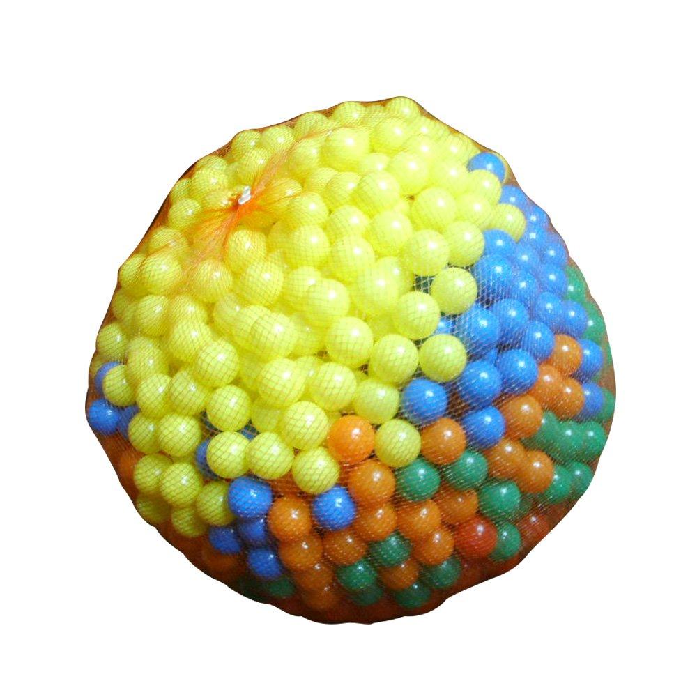 infantastic sac de 1000 balles de jeu ou de piscine en plastique env 55 cm quantit au choix amazonfr jeux et jouets - Balle Pour Piscine A Balle Pas Cher
