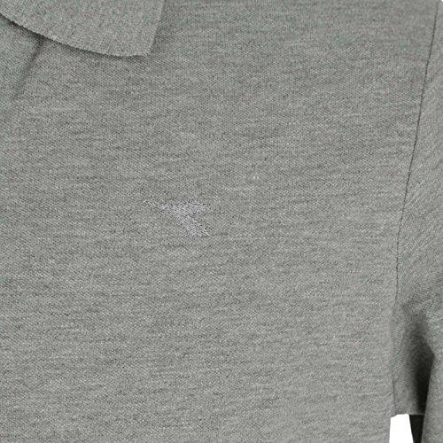 Diadora - Polo POLO PQ pour homme C1052 - MOYEN GREY MELANGE