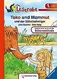 Leserabe – Toko und Mammut und der Säbelzahntiger: Band 25, Lesestufe 1