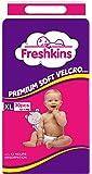 Freshkins Taped Diaper (White, XL, 30 Unit)