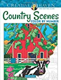Creative Haven Country Scenes Color by Number (Adult Coloring)