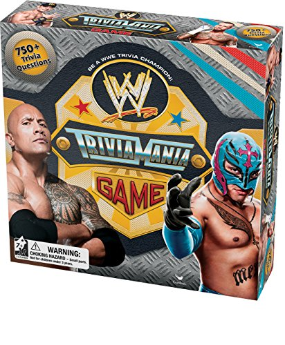 Preisvergleich Produktbild WWE Trivia Mania Game (Manufacturer's Suggested Age: 7 Years and Up) by Cardinal Industries TOY (English Manual)