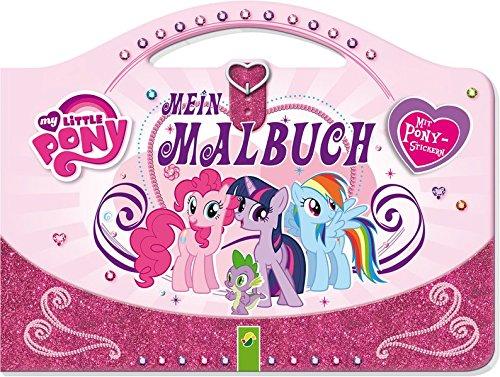(My Little Pony - Mein Taschen-Malbuch: Mit Pony-Stickern)