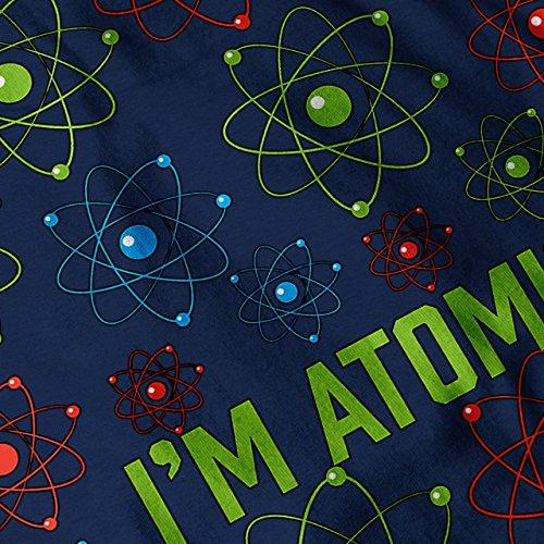 ich bin atomar Stil Wissenschaft Geek Damen S-2XL Muskelshirt | Wellcoda Marine