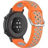 KOMI 20 mm 22 mm Cinturino In Silicone Orologio Da Donna Uomo Fitness Sport Cinturino di Ricambio Intelligente Accessori
