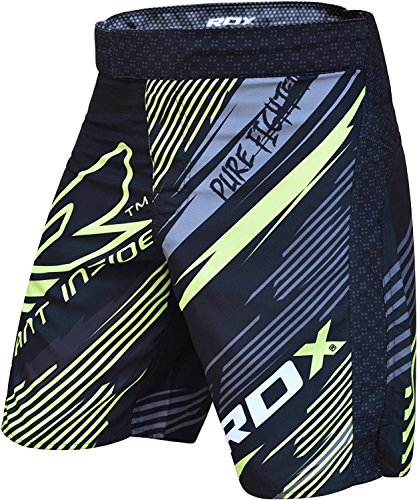 Authentische RDX Fight Shorts UFC MMA Kafig Grappling Short Boxing WH1-X12,Mehrfarbig, M
