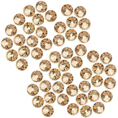 De cristales de Swarovski  prostituya macrocito #2058 mejor SS20 ' LT.- Cristales (50 unidades), Colorado topaz ' x50