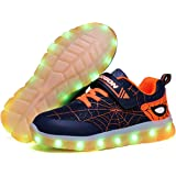 Scarpe da Ginnastica A LED per Bambini [Nuova Versione 2020] Scarpe da Ginnastica Luminose Ricaricabili per Ragazzi, Nuove Sp