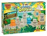 Craze 53189 - Magic Sand Dschungel-Box., ca. 600g Sand