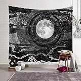 Tapestry Wanddekoration 3D Kunst Muster böhmischen Indischen Mandala Hippie Tapisserie Bettdecke Tischdecke Picknick Strand Tuch (Farbe : A, größe : 153x130cm)