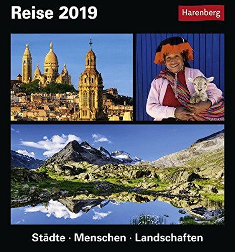Produktbild Reise - Kalender 2019: Städte, Menschen, Landschaften