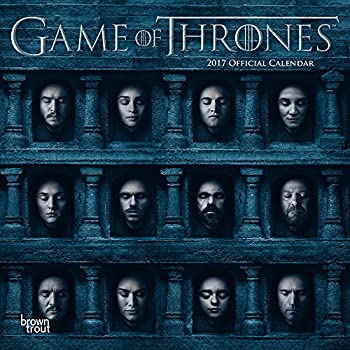 Official Game of Thrones 2017 Wall Calendar