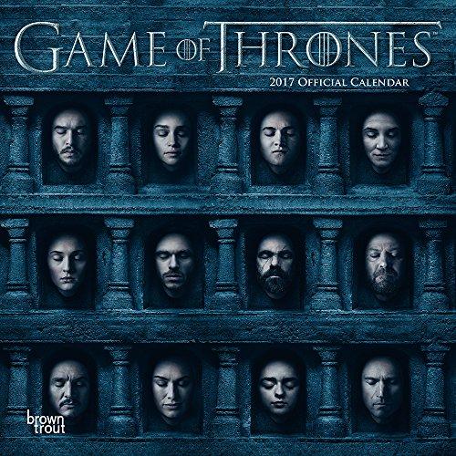 Grupo Erik Editores Game of Thrones–Calendario 2017, 30x 30cm