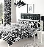 Duvet Cover & Pillow Case [Zebra Skin] Quilt Cover Set (King (230x220 cm))