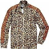 adidas Originals Jeremy Scott JS Trefoil Leopard Firebird TT Jacke O21158, Größe:S, Farbe:Leopard