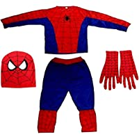 Bright Pickup Halloween Cosplay Mind Masala Spiderman Costume, an Ultimate Superhero Dress with Polyester Material for…