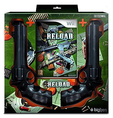 Bigben - WIRELOADBN2GW - jeux video Reload + 2 Spaghetti guns - pour wii