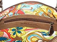 Bruno Banani Bicolour_3 - Bolso de mano de cuero mujer, color marrón, talla 40x32x16 cm (B x H x T)