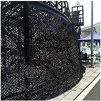 Red De Camuflaje 4x6m Negro Protección Contra El Sol Camouflage Net Decoración Del Jardín Tienda De Pesca Neta Sombra De Coche Cubierta De Coche Jungla Caza Fotografía De Fondo Tela 3m2m5m8m10m