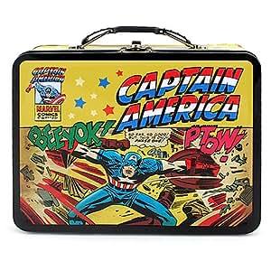 Captain America Tin Lunch Box [Beeyok! Ptow!]