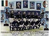 Stamp Calcio Italiano - Mint e minifoglio timbro smontato con la squadra di calcio italiana dal 1942 - 1949 - Stampbank - amazon.it
