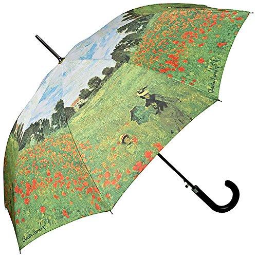 VON LILIENFELD Parapluie Automatique Femme Motif Art Claude Monet: Champ de coquelicots