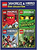 Lego: Ninjago & Hero Factory (4pc) / (Box) [DVD] [Region 1] [NTSC] [US Import]