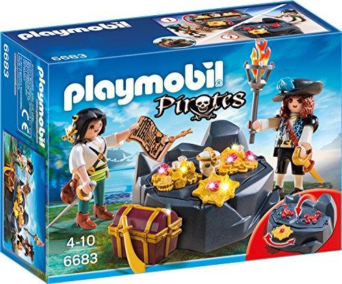 Preisvergleich Produktbild Playmobil 6683 - Piraten-Schatzversteck