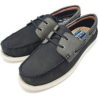 Superdry Men's Leather Deck Shoe Boat