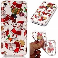 iPhone 5C Hülle, iPhone 5C Xmas Case, BONROY® iPhone 5C Silikon Hülle Tasche Handyhülle Weihnachtsthema [Weihnachtsmann... preisvergleich bei billige-tabletten.eu