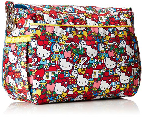 Ju-Ju-Be Hello Kitty Collection Better Be Messenger Nappy Changing Bag, Tick Tock